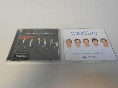 Westlife - Unbreakable Greatest Hits CD New/Sealed + CD Single