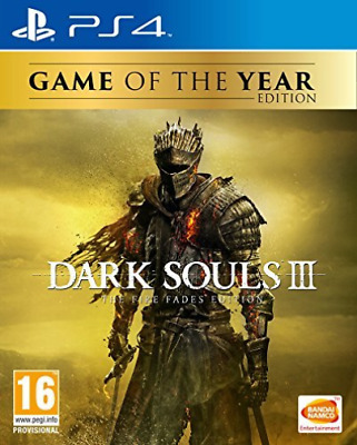 Dark Souls III The Fire Fades Game Of The Year (GOTY) PS4 Game GAME NEW