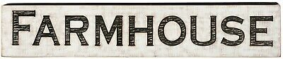 Vintage Style JUMBO/LARGE  Carved Sign FARMHOUSE  Primitives by Kathy
