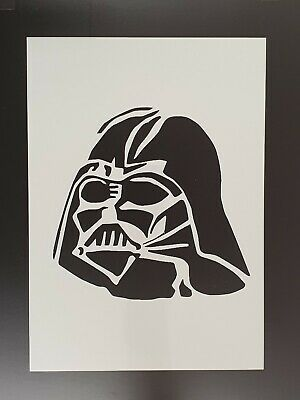 Star Wars robot wall art stencil,Strong,Reusable,Recyclable