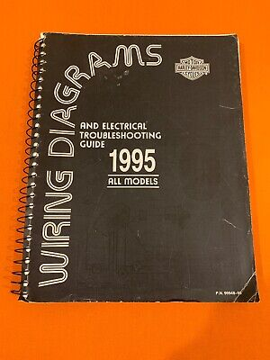 harley davidson 1995 xl dyna softail flt wiring diagrams manual 99948-95