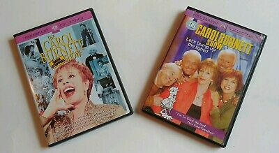 2 The Carol Burnett Show DVDs Lot Comedy Variety CBS TV Show Movies 2001 & 2004