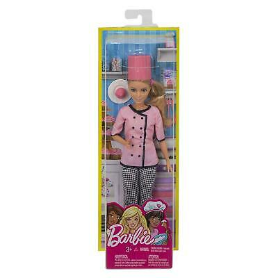 Barbie Careers Cupcake Chef Doll Brand New Fast Postage