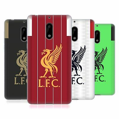 Official Liverpool Football Club 2019/20 Kit Soft Gel Case For Nokia Phones 1