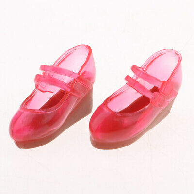 Handmade Doll Slope Heel Shoes for Blythe 1/6 BJD Doll 12inch Doll Accessory