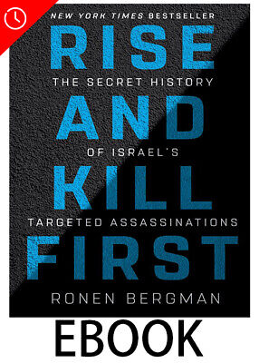 Rise and Kill First by  🔥 Ronen Bergman  🔥 [PDF]  ⚡ Fast Delivery ⚡