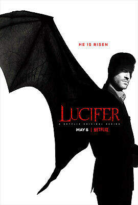 Lucifer Season 4 DVD Box Set Brand New & Sealed Pack