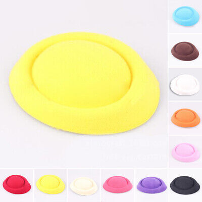 For Gifts Fascinator Base Felt Like Pillbox Hat Material Headwear Wholesale 1 Pc