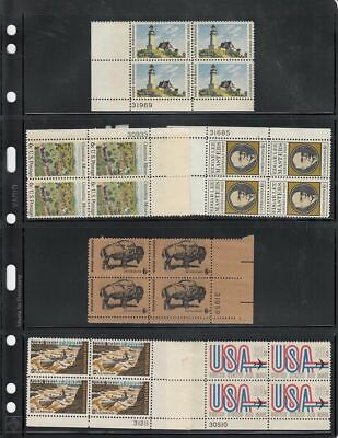 10 Sheets of Stamp Stock Pages (4 Strips) Display - Double Sided USA Seller