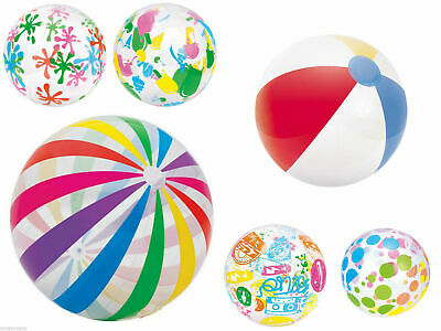 "New 16"" 24"" 42"" Inflatable Blowup Pool Beach Ball Holiday Party Swimming Garden"