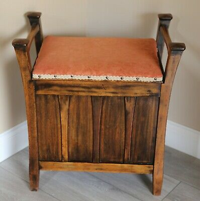 Arts and Crafts Piano Stool