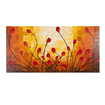Hand Painted Modern Abstract Huge Wall Decorate Canvas Art Oil Painting (Framed)