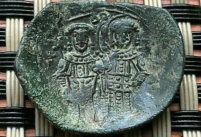 Alexius Iii Angelus-Comnenus 1195-1203 Ad Ae Trachy Constantinople Mint.