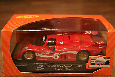 Slot car 1/32 Slot.it CA25aPorsche 962 IMSA Coke #5 - NEU OVP