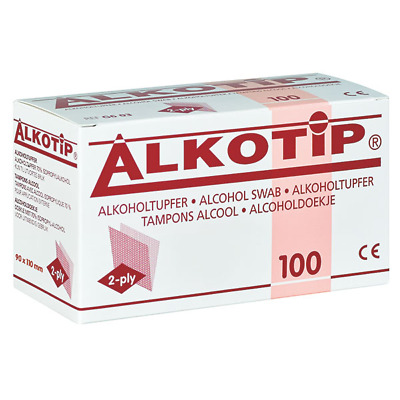 Tamponi Alcool Large Alkoholtücher Alkoholpdas Disinfettante Medicina