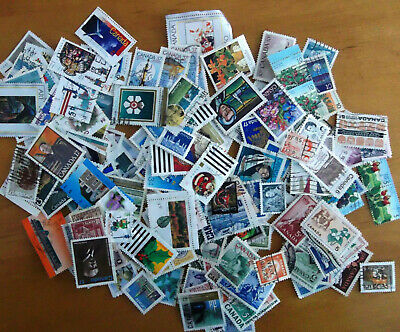 Over 200 Canada Stamps Collection Off paper Random