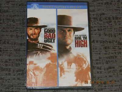 The Good, The Bad & The Ugly & Hang 'Em High Double Feature Dvd-{New}