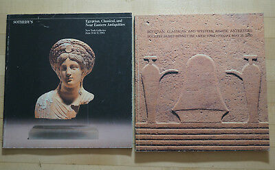 Lot of 2 1980s Auction Catalogs Egyptian Classical Antiquities Sotheby's