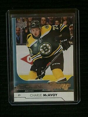 2017-18 Upper Deck Series 1 CHARLIE MCAVOY Young Guns #242