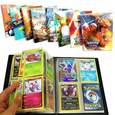 AU 240Pcs Capacity Card Holder For Pokemon Cards Album Book List Card Collectors
