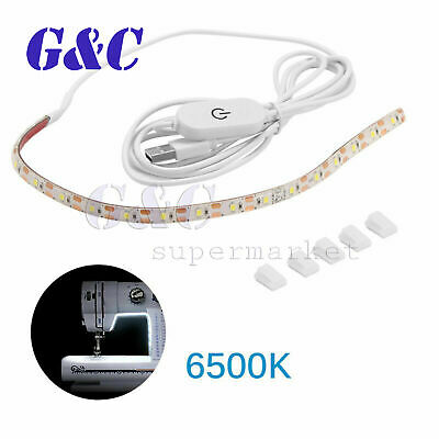 1x Sewing Machine LED Bright Light Strip With Dimmer Supply USB Power K7Y1 B0R5