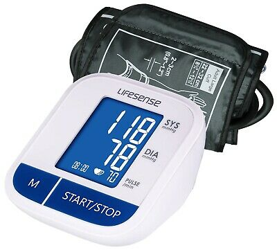 New Digital Electronic Blood Pressure Monitor Upper Arm Memory Backlit free post