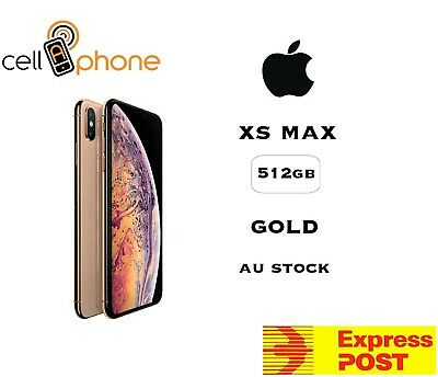 Apple iPhone XS Max - 512 GB - Gold (Unlocked) AU Stock Express delivery unlock