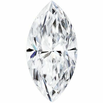 Marquise Forme Charles & Colvard Forever One Moissanite D E F Couleur Ample