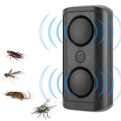 Electronic Ultrasonic Mosquito Repellent Cockroach Mouse Killer Pest Reject