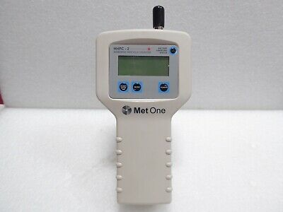 Met One Hhpc Airborne Particle Counter 2 Channel Working No Charger Parts Sale