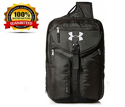 watch 904ce c2c98 Under Armour Unisex Compel Sling Water-resistant Black   Silver For Daily  Use