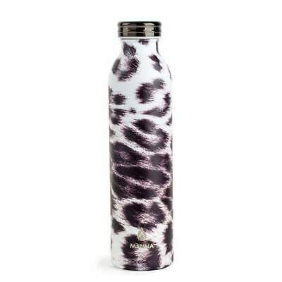 97e314532c Manna Double Wall Insulated Stainless Steel Water Bottle 20oz Retro Leopard  $25