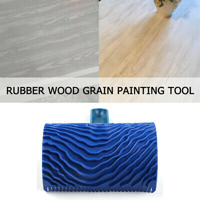 Rubber Wood Grain Graining Wall Art Paint Painting Effects DIY Tools Home Decor
