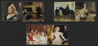 GB 2019 Queen Victoria Bicentenary u/m mnh stamps x 6 - new
