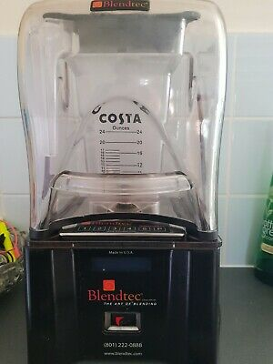 Costa Blendtec Commercial Icb5D Professional Smoother Full Working Order
