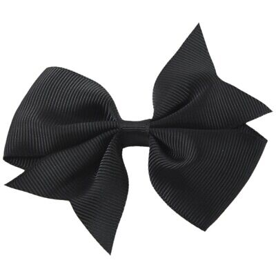 1X(20pcs Big Hair Bows Boutique Girls Alligator Clip Grosgrain Ribbon Headb 2Y2)