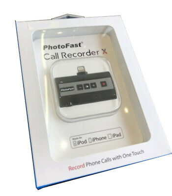 Photofast Call Recorder X (Black) - mobile/internet phone call recorder for iOS