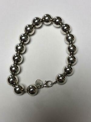 4e5cfb012 TIFFANY + CO. City Hardware Bracelet 10mm Sterling Silver Bead Balls ...