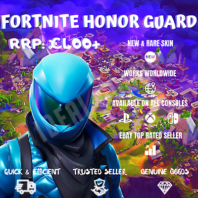 FORTNITE HONOR GUARD Skin Epic Games Code