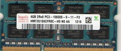 4GB 1x4GB RAM Memory Compatible with Dell Studio 15 1569 Notebooks DDR3 A30