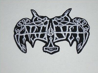 Enslaved Black Metal Iron On Embroidered Patch