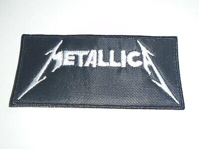Metallica Logo Embroidered Patch