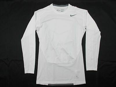 Nike - White Dri-Fit Compression Long Sleeve Shirt (Multiple Sizes) - Used
