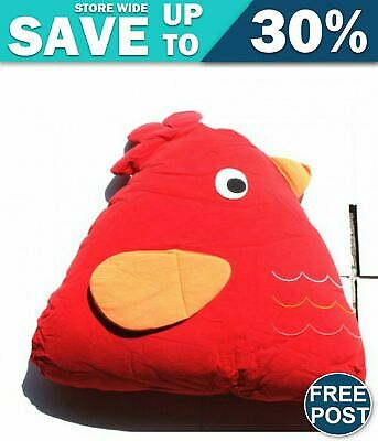 Chick Cuddling Cushion(15x18x35 Cm) Red