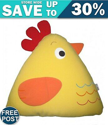 Chick Cuddling Cushion(15x18x35 Cm) Yellow