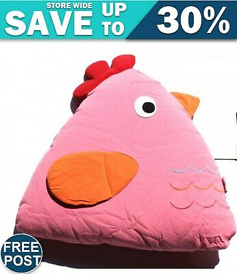 Chick Cuddling Cushion(15x18x35 Cm) Pink