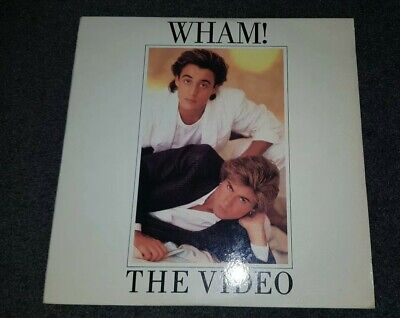 "Wham The Video 8"" Laser Disc George Michael"