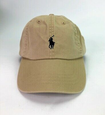 Ralph Lauren Polo Baseball Dad Hat Men's Cap Classic Big Pony Logo 100% Cotton