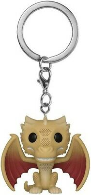 FUNKO POP! KEYCHAINS: Game of Thrones - Viserion [New Toys] Vinyl Figure