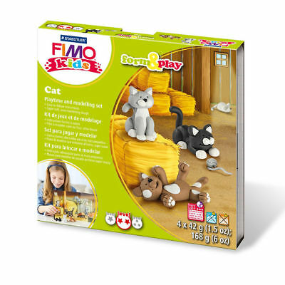New Fimo Kids Form & Play Set Cats